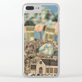 Clouds. Clear iPhone Case