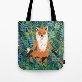 Fox Yoga Tote Bag