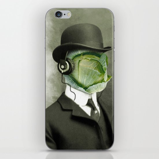 Bowler cabbage iPhone & iPod Skin