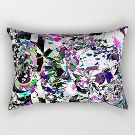 Worlds Collide Rectangular Pillow