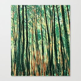 tree of paint Canvas Print