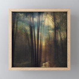 Golden Creek Framed Mini Art Print