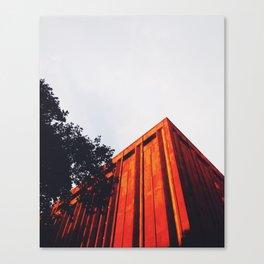 New York Orange Canvas Print