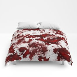Blood Stains Comforters