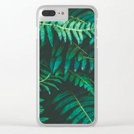 Ferns II Clear iPhone Case