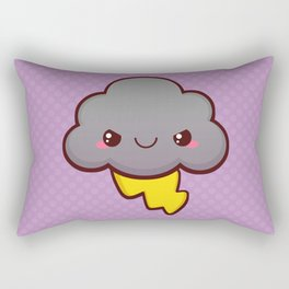 Stormy Cloud Rectangular Pillow