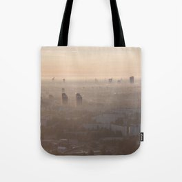 metropolis awakes Tote Bag
