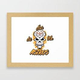 Dia de los Astros Framed Art Print