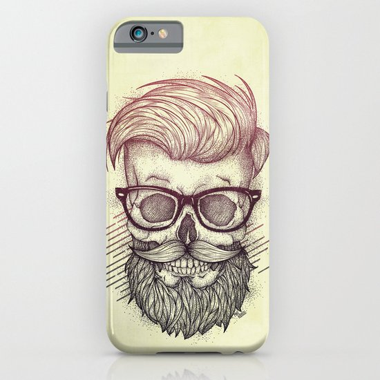 Hipster is Dead iPhone & iPod Case