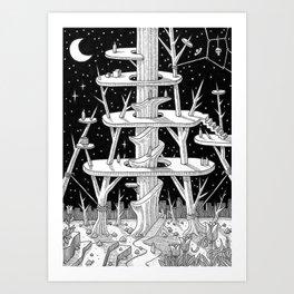 The Shrine Art Print