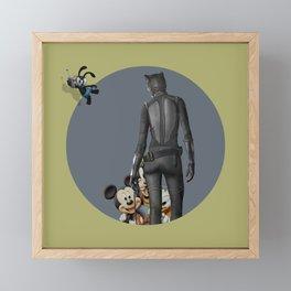 Remote Controlled Destiny Framed Mini Art Print