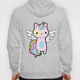 Cat Kawaii Funny Rainbow Cosplay Hoody