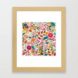 Autumn collection Framed Art Print