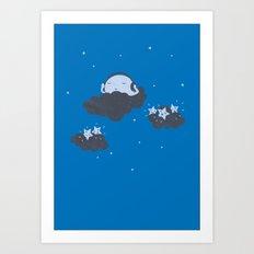 The Silent Night Art Print