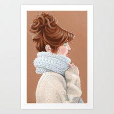 Bundle up Art Print