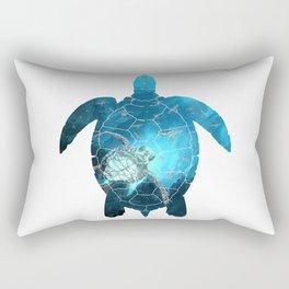 Sea Turtle - Under The Sea Rectangular Pillow