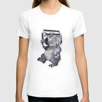 T-shirts featuring koala  by Laura Graves
