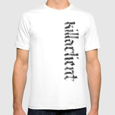 killaclient Mens Fitted Tee White MEDIUM