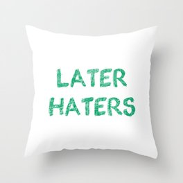 Just Because Im Smiliing (44) Throw Pillow