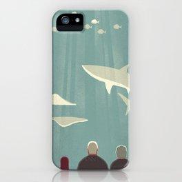 Day Trippers #9 - Aquarium iPhone Case