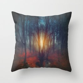 cRies and whiSpers Throw Pillow