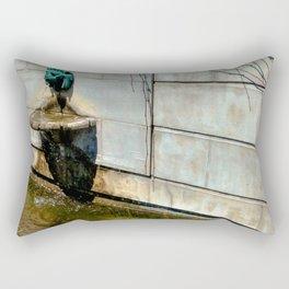 A Trickling Roar Rectangular Pillow