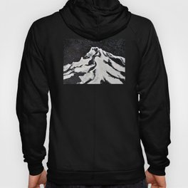 Mount Hood and Stars Hoody
