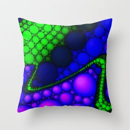 Biscuit Crumbs Trail Throw Pillow