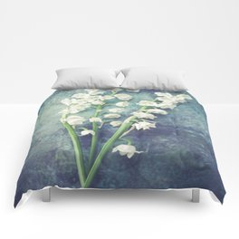 Lily Of The Valley II Comforters