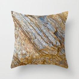 Stunning rock layers Throw Pillow