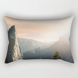 Mountains landscape 4 Rectangular Pillow