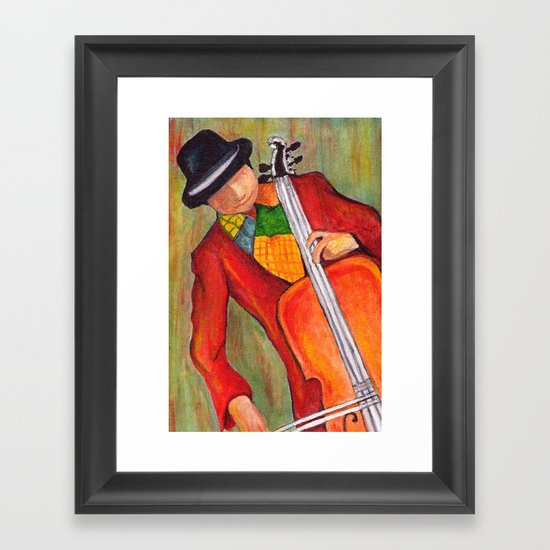 Jazzed Up Framed Art Print