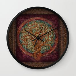 The Great Tree Wall Clock