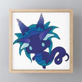 Nightshade Baby Dragon Framed Mini Art Print
