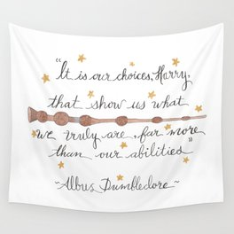 Choices Quote Wall Tapestry