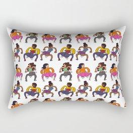Booty Butt Cheeks Rectangular Pillow