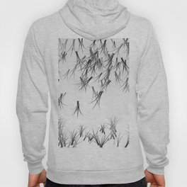 Black White Winter Design Hoody