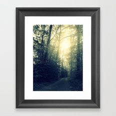Take a Back Road Framed Art Print