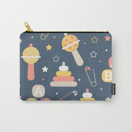 Cartoon Letter Pattern Art Prints Carry-All Pouch