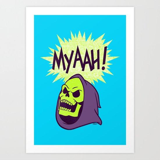 Myaah! Art Print