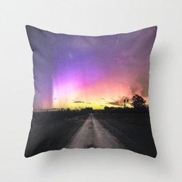 Aurora Australis, Drouin - Australia Throw Pillow