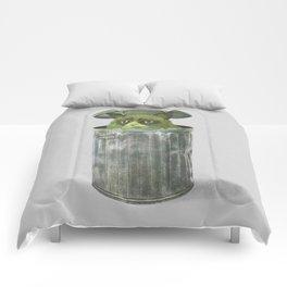 Grouchy Cat  Comforters