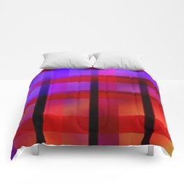 Gradient Plaid Comforters