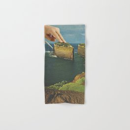 Serving up cake by the seaside Hand & Bath Towel