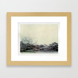 Think about it Framed Art Print