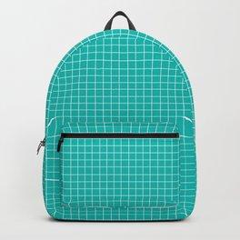 Grid (White/Eggshell Blue) Backpack