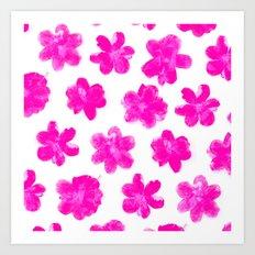 Flowering In Pink Art Print