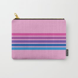 Rainbow on Pink Carry-All Pouch