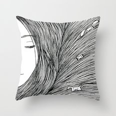Separated Throw Pillow