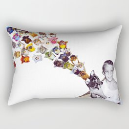 Furby Takeover  Rectangular Pillow